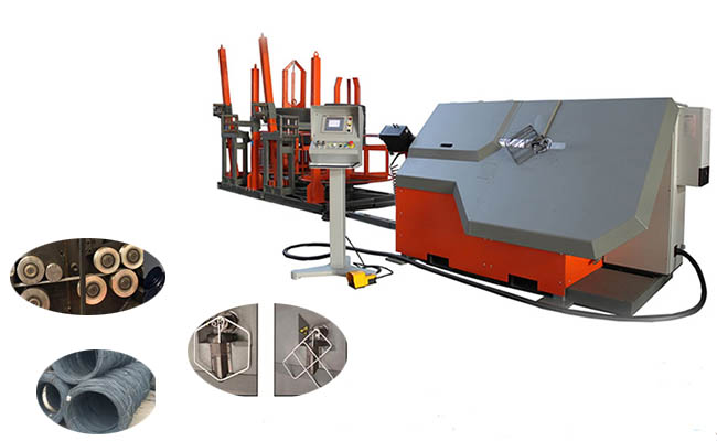 CNC wire bending machine