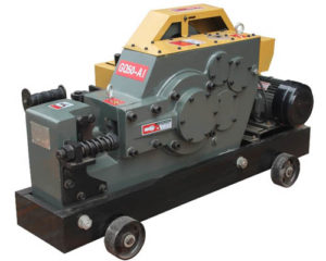 Steel rod cutter machine