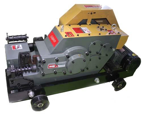 Steel bar cutter machines