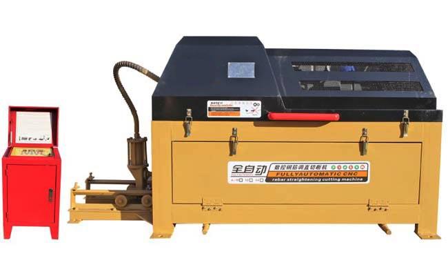 Wire straightener and cutter machines