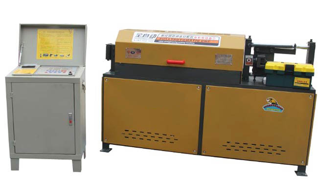 Wire Straightener and Cutter - Rebar Processing Equipment