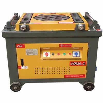 Automatic tmt bending machine