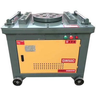 Manual rebar bender machine