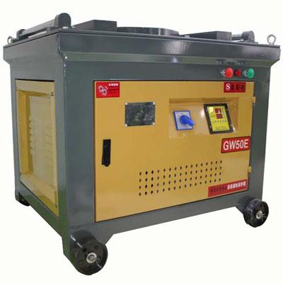 GW50E tmt bending machine manufacturer