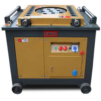 GW70 automatic tmt bar bending machine manufacturer