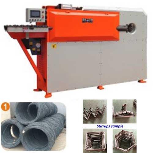 Automatic stirrup making machine